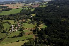 Letecké snímky naší obce - září 2014