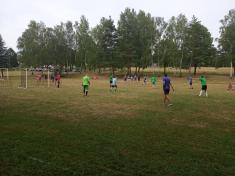 fotbalový turnaj a zábava